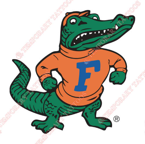 Florida Gators Customize Temporary Tattoos Stickers NO.4385