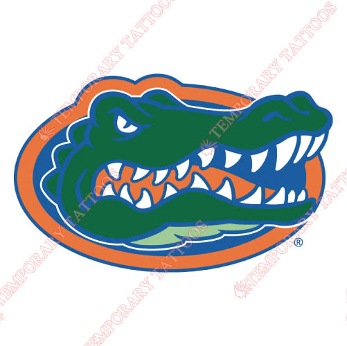 Florida Gators Customize Temporary Tattoos Stickers NO.4387