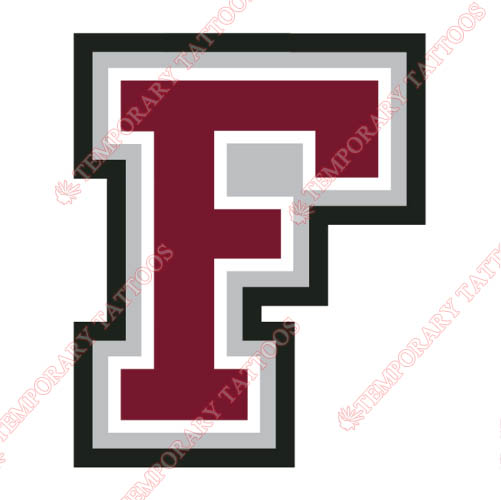 Fordham Rams Customize Temporary Tattoos Stickers NO.4410