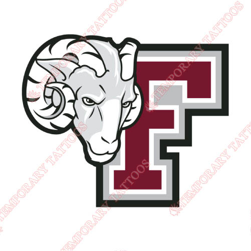 Fordham Rams Customize Temporary Tattoos Stickers NO.4413