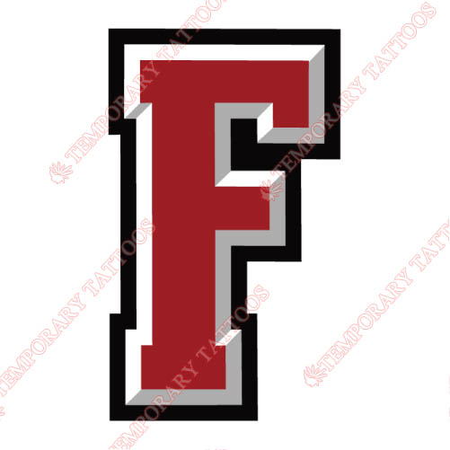 Fordham Rams Customize Temporary Tattoos Stickers NO.4414