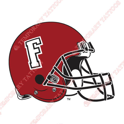 Fordham Rams Customize Temporary Tattoos Stickers NO.4416