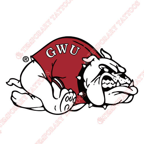 Gardner Webb Bulldogs Customize Temporary Tattoos Stickers NO.4435