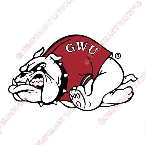 Gardner Webb Bulldogs Customize Temporary Tattoos Stickers NO.4436