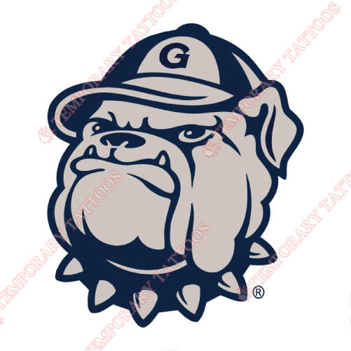 Georgetown Hoyas Customize Temporary Tattoos Stickers NO.4461