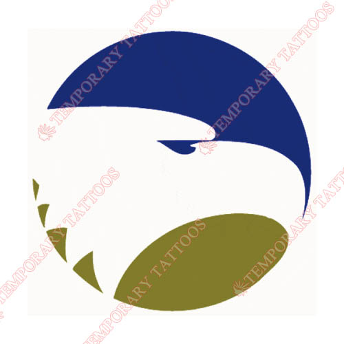 Georgia Southern Eagles Customize Temporary Tattoos Stickers NO.4474