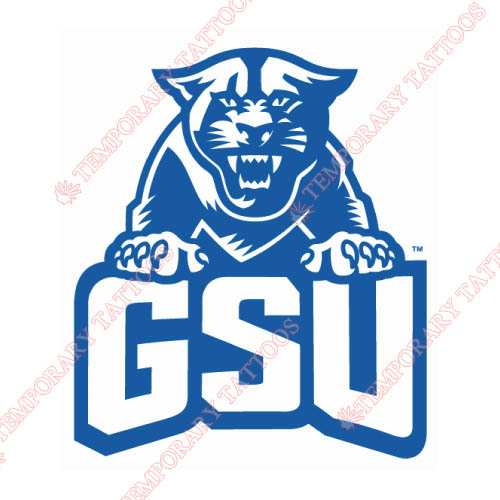 Georgia State Panthers Customize Temporary Tattoos Stickers NO.4482