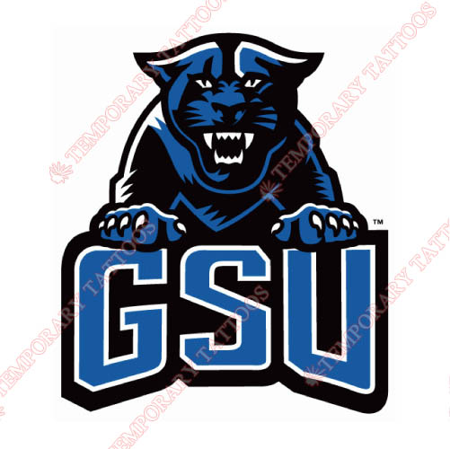Georgia State Panthers Customize Temporary Tattoos Stickers NO.4485