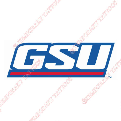 Georgia State Panthers Customize Temporary Tattoos Stickers NO.4488