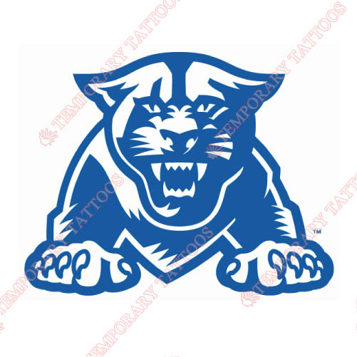 Georgia State Panthers Customize Temporary Tattoos Stickers NO.4494