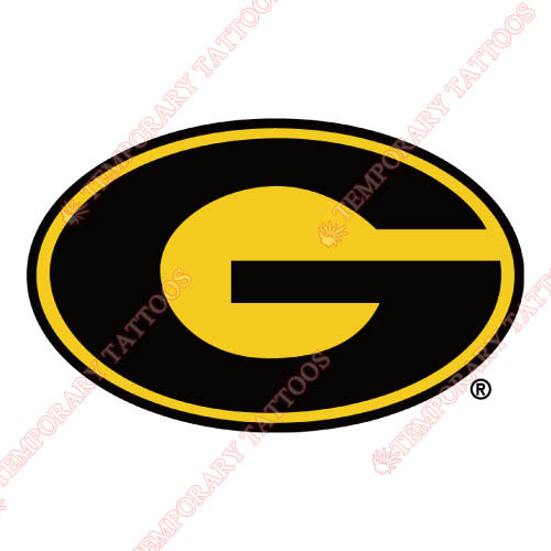 Grambling State Tigers Customize Temporary Tattoos Stickers NO.4510