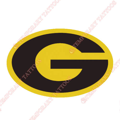 Grambling State Tigers Customize Temporary Tattoos Stickers NO.4511