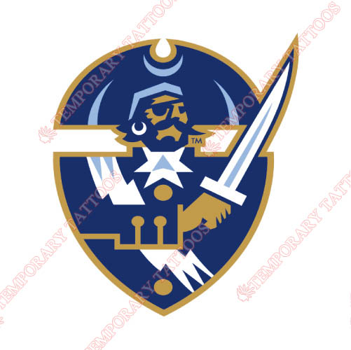Hampton Pirates Customize Temporary Tattoos Stickers NO.4521