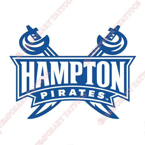 Hampton Pirates Customize Temporary Tattoos Stickers NO.4527