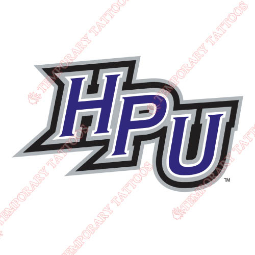 High Point Panthers Customize Temporary Tattoos Stickers NO.4542