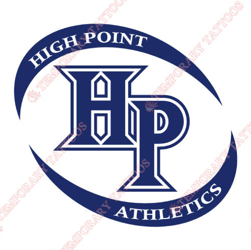 High Point Panthers Customize Temporary Tattoos Stickers NO.4544