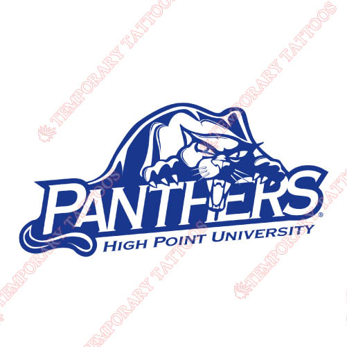 High Point Panthers Customize Temporary Tattoos Stickers NO.4545
