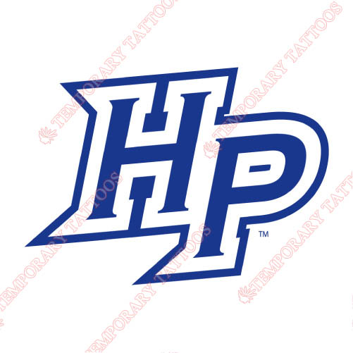 High Point Panthers Customize Temporary Tattoos Stickers NO.4550