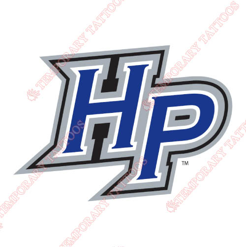 High Point Panthers Customize Temporary Tattoos Stickers NO.4552