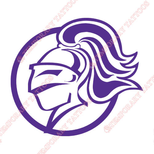 Holy Cross Crusaders Customize Temporary Tattoos Stickers NO.4565