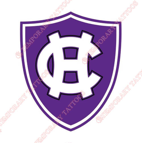 Holy Cross Crusaders Customize Temporary Tattoos Stickers NO.4567