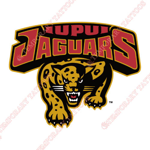 IUPUI Jaguars Customize Temporary Tattoos Stickers NO.4674