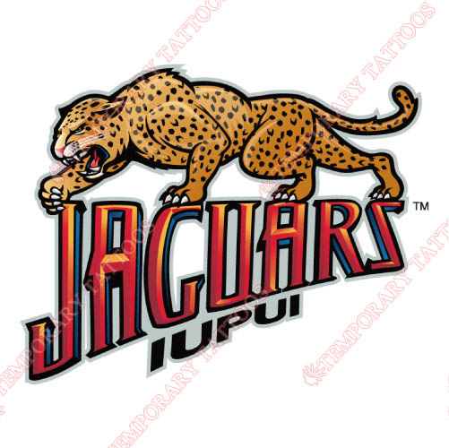 IUPUI Jaguars Customize Temporary Tattoos Stickers NO.4678