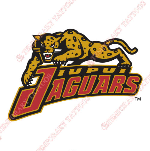 IUPUI Jaguars Customize Temporary Tattoos Stickers NO.4679
