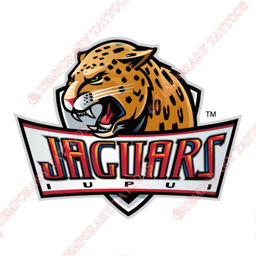 IUPUI Jaguars Customize Temporary Tattoos Stickers NO.4680