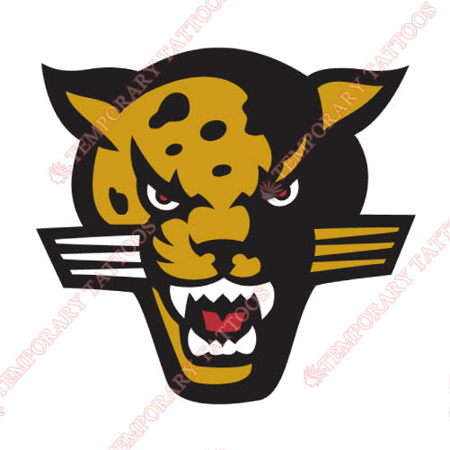 IUPUI Jaguars Customize Temporary Tattoos Stickers NO.4681