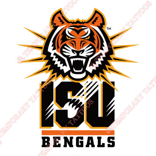 Idaho State Bengals Customize Temporary Tattoos Stickers NO.4585