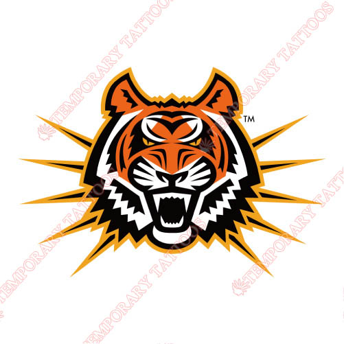 Idaho State Bengals Customize Temporary Tattoos Stickers NO.4586