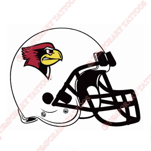 Illinois State Redbirds Customize Temporary Tattoos Stickers NO.4619