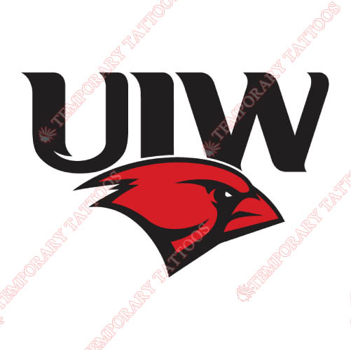 Incarnate Word Cardinals Customize Temporary Tattoos Stickers NO.4621
