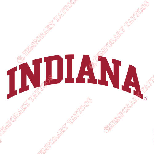 Indiana Hoosiers Customize Temporary Tattoos Stickers NO.4627