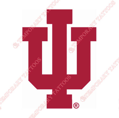 Indiana Hoosiers Customize Temporary Tattoos Stickers NO.4629