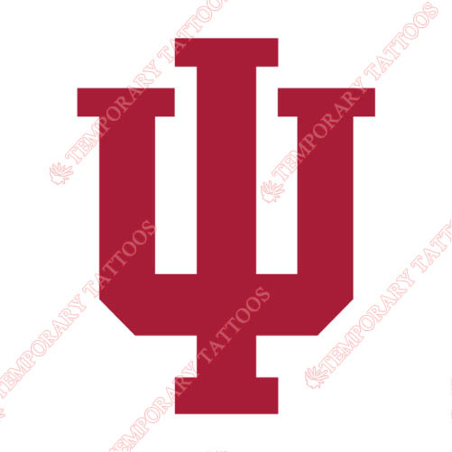 Indiana Hoosiers Customize Temporary Tattoos Stickers NO.4631