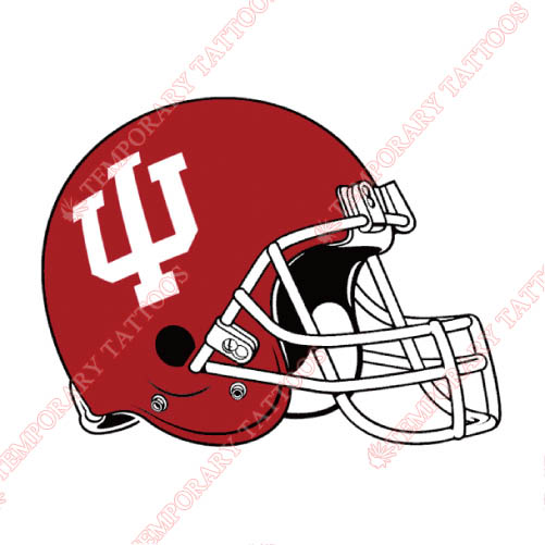 Indiana Hoosiers Customize Temporary Tattoos Stickers NO.4632
