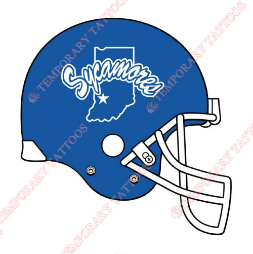Indiana State Sycamores Customize Temporary Tattoos Stickers NO.4636