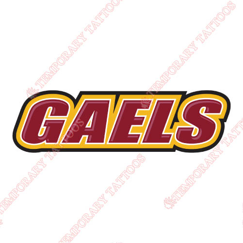 Iona Gaels Customize Temporary Tattoos Stickers NO.4645