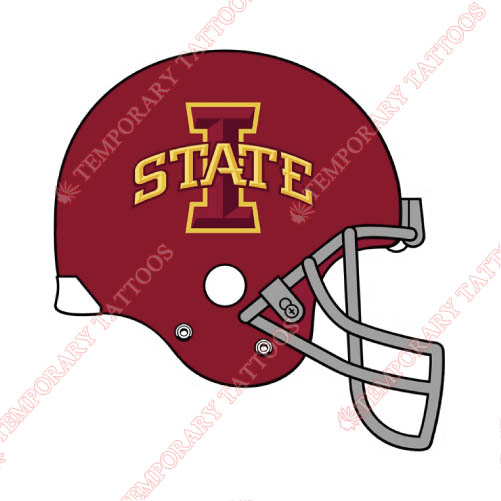 Iowa State Cyclones Customize Temporary Tattoos Stickers NO.4670
