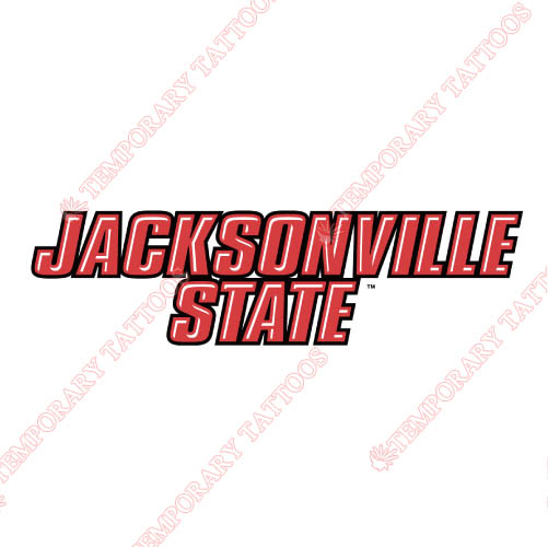 Jacksonville State Gamecocks Customize Temporary Tattoos Stickers NO.4691