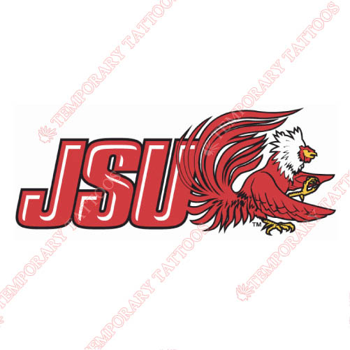 Jacksonville State Gamecocks Customize Temporary Tattoos Stickers NO.4693