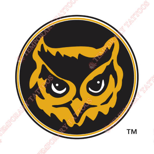 Kennesaw State Owls Customize Temporary Tattoos Stickers NO.4725