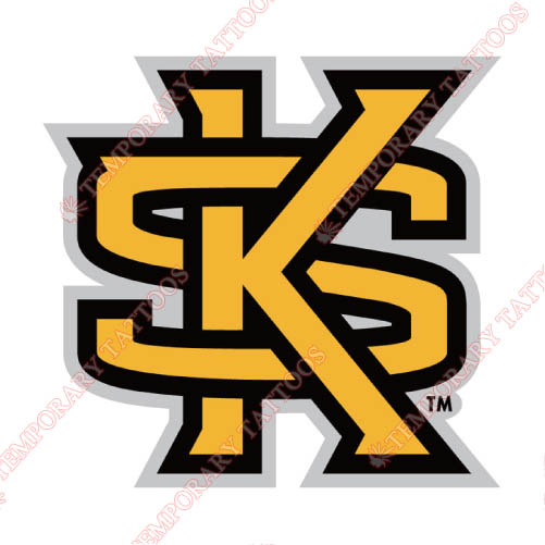 Kennesaw State Owls Customize Temporary Tattoos Stickers NO.4728