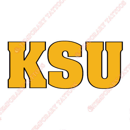 Kennesaw State Owls Customize Temporary Tattoos Stickers NO.4729