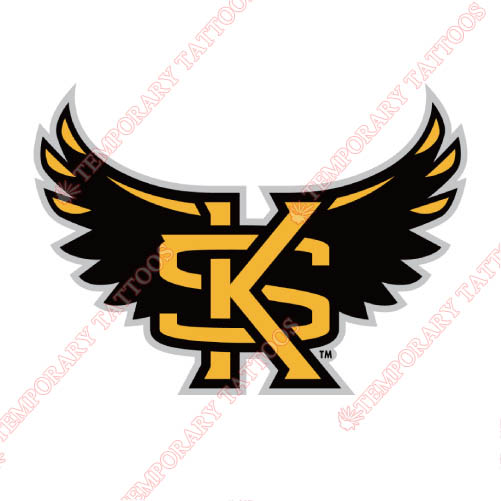 Kennesaw State Owls Customize Temporary Tattoos Stickers NO.4730