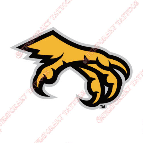 Kennesaw State Owls Customize Temporary Tattoos Stickers NO.4731