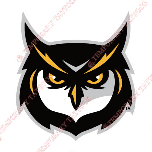 Kennesaw State Owls Customize Temporary Tattoos Stickers NO.4733