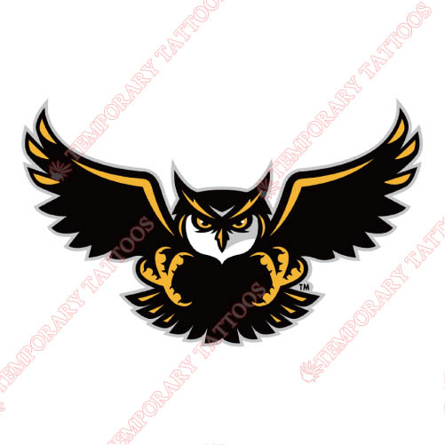 Kennesaw State Owls Customize Temporary Tattoos Stickers NO.4734